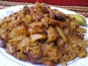 Снимка 3 от рецепта за Свинско с кисело зеле на фурна