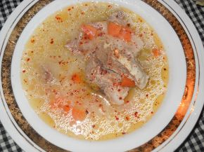 Снимка 2 от рецепта за Телешко варено в гърне