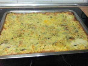 Снимка 5 от рецепта за Тиквички на фурна с кашкавал