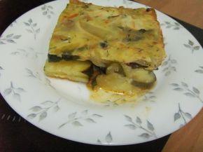 Снимка 6 от рецепта за Тиквички на фурна с кашкавал