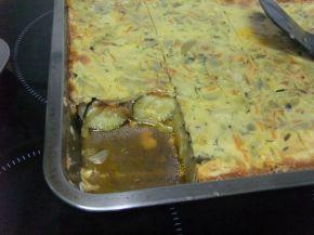 Снимка 7 от рецепта за Тиквички на фурна с кашкавал