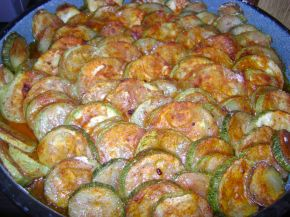 Снимка 4 от рецепта за Тиквички на фурна