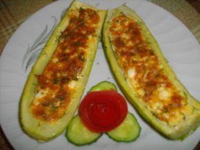 Снимка 6 от рецепта за Тиквички, пълни с яйца и сирене