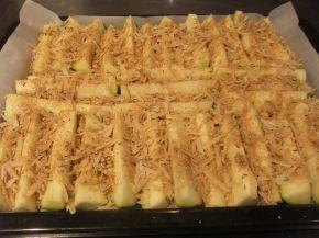 Снимка 3 от рецепта за Тиквички с кашкавал на фурна