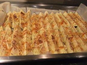 Снимка 4 от рецепта за Тиквички с кашкавал на фурна