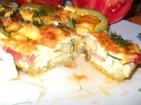 Снимка 10 от рецепта за Тиквички със сирене и яйце на фурна