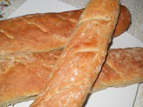 Снимка 2 от рецепта за Типови франзелки с три вида семена