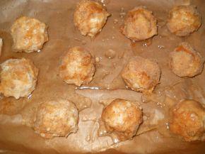 Снимка 2 от рецепта за Топчета от извара на фурна