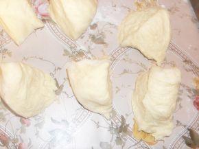 Снимка 3 от рецепта за Топки с шунка и кашкавал