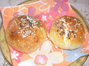 Снимка 4 от рецепта за Топки с шунка и кашкавал