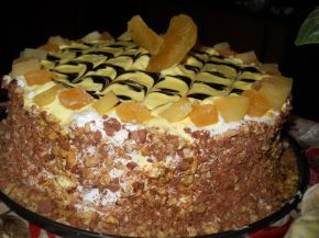 Снимка 2 от рецепта за Торта `Изкушение с ананас`
