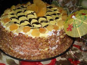 Снимка 3 от рецепта за Торта `Изкушение с ананас`