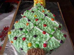 Снимка 2 от рецепта за Торта `Коледна елха`