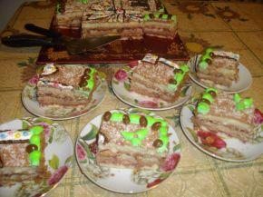 Снимка 2 от рецепта за Торта `Подарък`