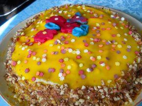 Снимка 4 от рецепта за Торта `Пролетно настроение`