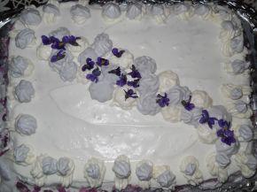 Снимка 3 от рецепта за Торта с дъх на виолетки