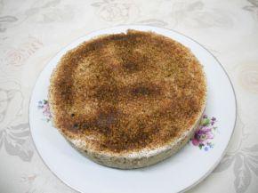 Снимка 3 от рецепта за Торта с ябълки и цедено кисело мляко