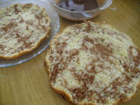 Снимка 2 от рецепта за Торта с кокосов крем