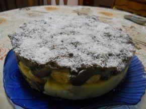Снимка 2 от рецепта за Торта с кроасани - II вариант