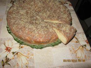 Снимка 3 от рецепта за Торта с орехи и млечен сироп