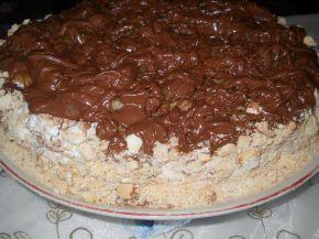 Снимка 2 от рецепта за Торта с праскови