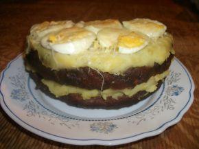 Снимка 2 от рецепта за Тортичка с блатове от кайма