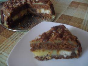 Снимка 2 от рецепта за Тортичка с кроасани