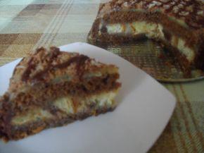 Снимка 3 от рецепта за Тортичка с кроасани