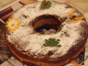 Снимка 4 от рецепта за Трицветен кекс - II вариант