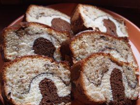 Снимка 9 от рецепта за Трицветен кекс - II вариант