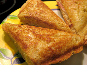 Снимка 2 от рецепта за Триъгълен сандвич