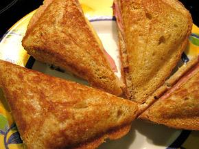 Снимка 3 от рецепта за Триъгълен сандвич