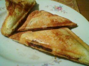 Снимка 4 от рецепта за Триъгълен сандвич