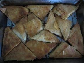 Снимка 2 от рецепта за Триъгълни баклавички