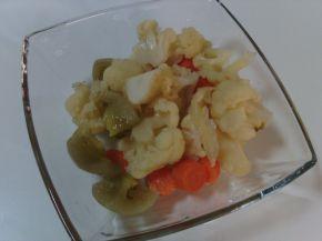 Снимка 2 от рецепта за ЦАРСКА ТУРШИЯ за 1 компотен буркан 800 мл.