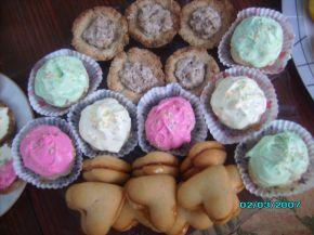 Снимка 2 от рецепта за Цветни бутерки