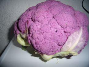 Снимка 2 от рецепта за Туршия с лилав карфиол  (за трилитров буркан)