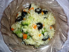 Снимка 3 от рецепта за Ориз със зеленчуци