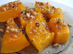 Снимка 2 от рецепта за Варена тиква с орехи и мед
