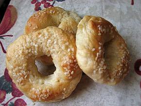 Снимка 1 от рецепта за Варени гевречета (бейгъл)