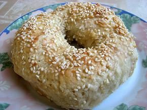 Снимка 1 от рецепта за Варени гевреци със сусам