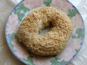 Снимка 3 от рецепта за Варени гевреци със сусам