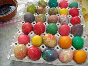 Снимка 2 от рецепта за Великденски яйца - II вариант