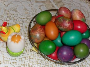 Снимка 4 от рецепта за Великденски яйца - II вариант