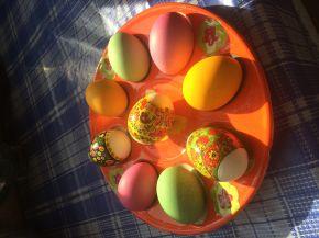 Снимка 5 от рецепта за Великденски яйца - II вариант