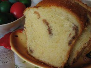 Снимка 1 от рецепта за Великденски козунак с плънка