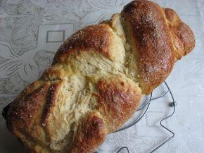Снимка 5 от рецепта за Великденски козунак с плънка