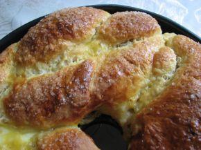Снимка 6 от рецепта за Великденски козунак с плънка