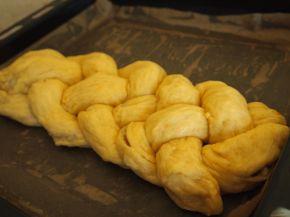 Снимка 3 от рецепта за Великденски козунак с пълнеж