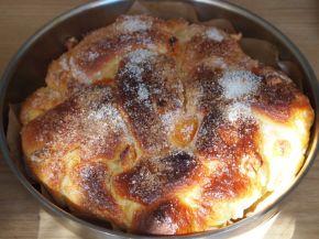 Снимка 9 от рецепта за Великденски козунак с пълнеж